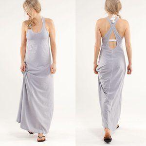 Lululemon Striped Maxi Tank Dress